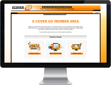 eCover Go Member Area Screenshot